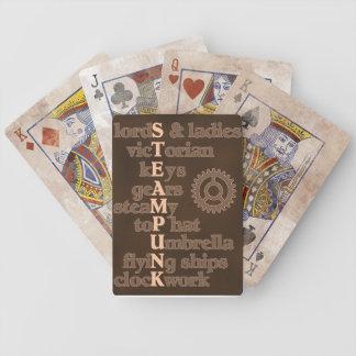 Steampunk Subway Art Playing Cards