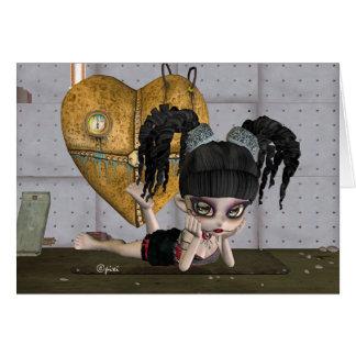 Steampunk Sweetheart - Card