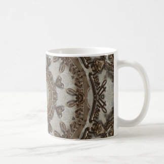 Steampunk Sweetheart Mandala Coffee Mug