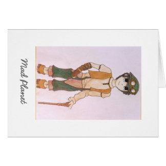 Steampunk Teen Card