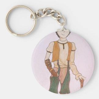 Steampunk Teen Keychain