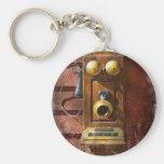 Steampunk - teléfono Phace Llavero