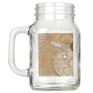 Steampunk Telescope Steampunk Collection Mason Jar