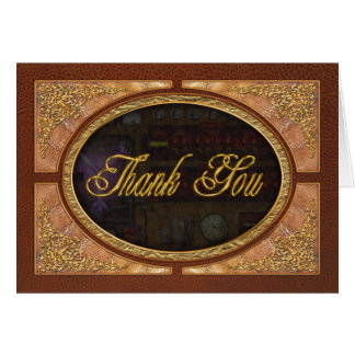 Steampunk - Temporal Flux Greeting Card