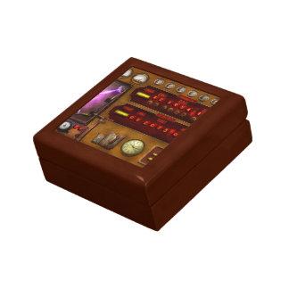 Steampunk - Temporal Flux Trinket Box