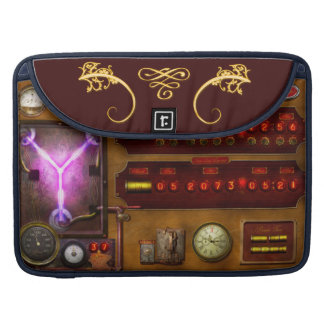 Steampunk - Temporal Flux Sleeve For MacBook Pro