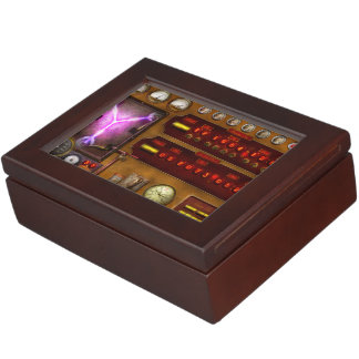 Steampunk - Temporal Flux Memory Boxes