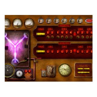 Steampunk - Temporal Flux Postcard