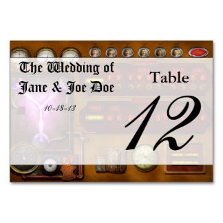 Steampunk - Temporal Flux Table Cards