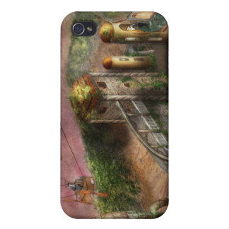 Steampunk - The age of invention iPhone 4 Case