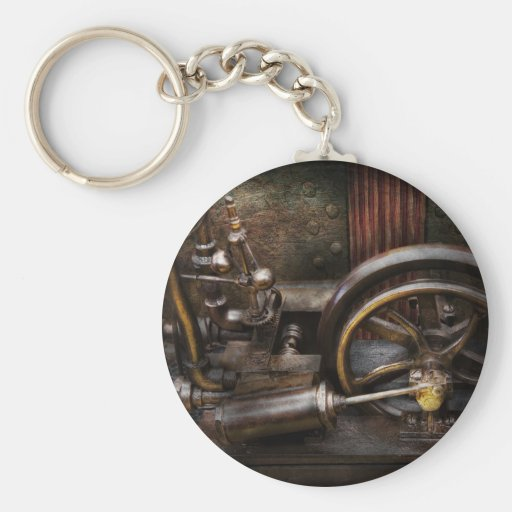 Steampunk - The Contraption Keychains