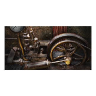 Steampunk - The Contraption Customized Photo Card
