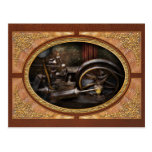 Steampunk - The Contraption Post Card