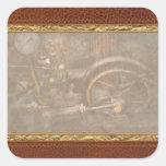 Steampunk - The Contraption Square Sticker
