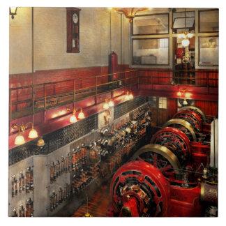 Steampunk - The Engine Room 1974 Ceramic Tile