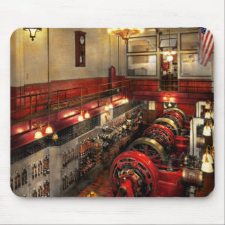 Steampunk - The Engine Room 1974 Mouse Pad
