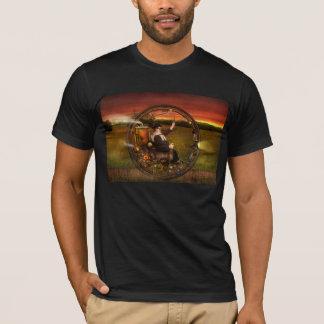 Steampunk - The gentleman's monowheel T-Shirt