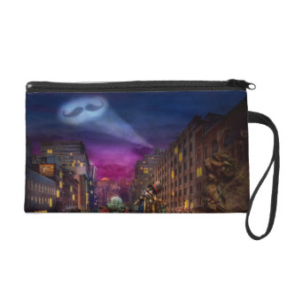 Steampunk - The Great Mustachio Wristlet Clutches