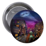 Steampunk - The Great Mustachio 3 Inch Round Button