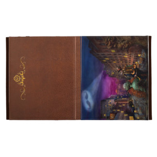 Steampunk - The Great Mustachio iPad Case