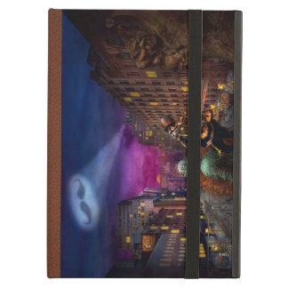 Steampunk - The Great Mustachio iPad Cases