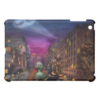 Steampunk - The Great Mustachio iPad Mini Cases