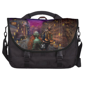 Steampunk - The Great Mustachio Bag For Laptop