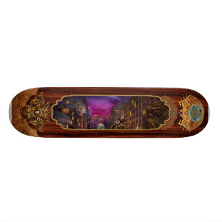 Steampunk - The Great Mustachio Skateboard Deck