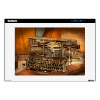 """Steampunk - The history of typing 13"""" Laptop Skin"""
