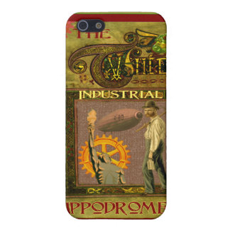 SteamPunk ~ The Industrial Hippodrome iPhone SE/5/5s Cover