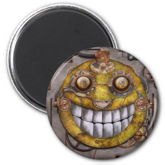 Steampunk - The joy of technology Fridge Magnet