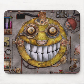 Steampunk - The joy of technology Mouse Pad