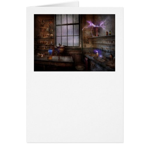 Steampunk - The Mad Scientist Cards