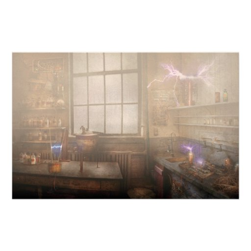 Steampunk - The Mad Scientist Custom Stationery