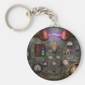 Steampunk - The Modulator Basic Round Button Keychain