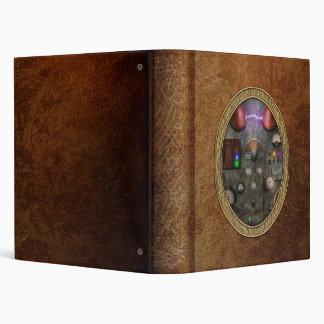Steampunk - The Modulator 3 Ring Binders