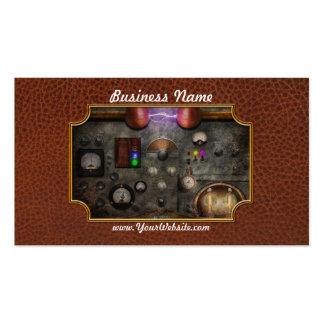 Steampunk - The Modulator Business Card Templates