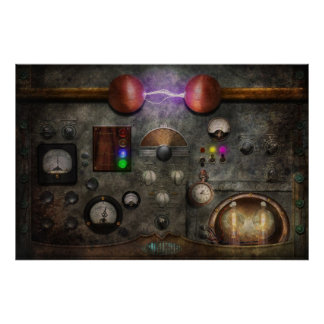 Steampunk - The Modulator Posters