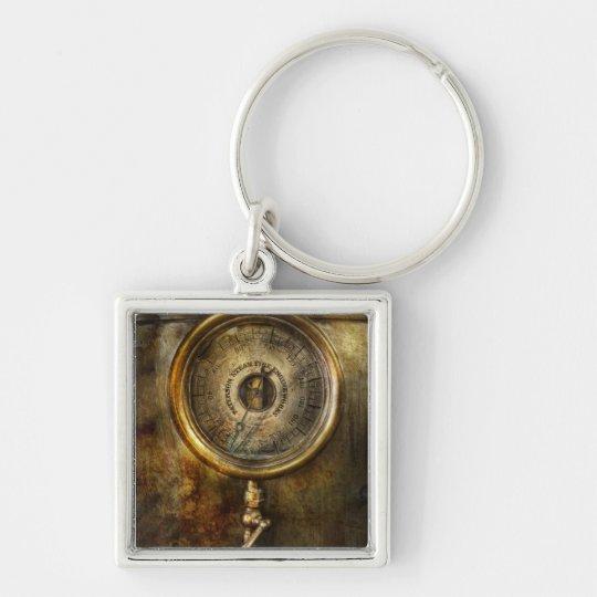 Steampunk - The pressure gauge Keychain