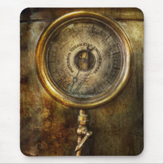 Steampunk - The pressure gauge Mouse Pad