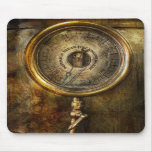 Steampunk - The pressure gauge Mousepads