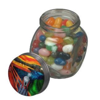 Steampunk - The scream Jelly Belly Candy Jar
