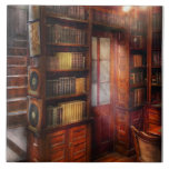 Steampunk - The semi-private study Ceramic Tiles