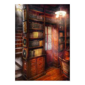 Steampunk - The semi-private study Custom Invitations