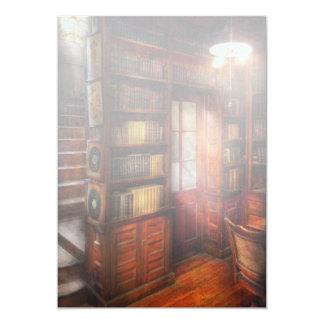 Steampunk - The semi-private study Invites