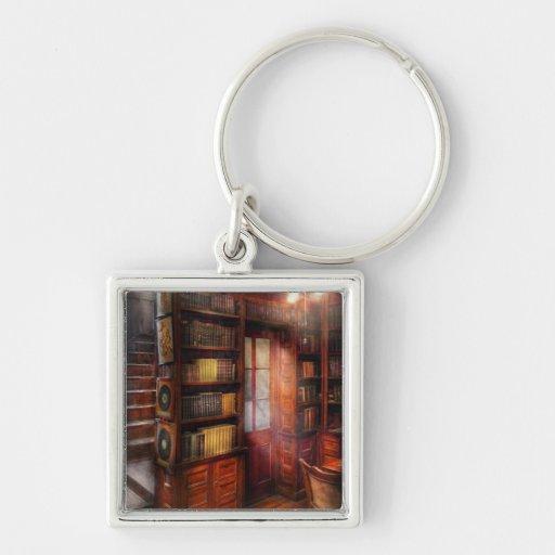 Steampunk - The semi-private study Keychain