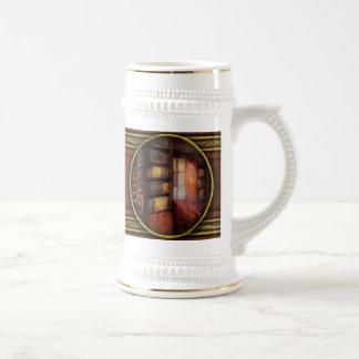 Steampunk - The semi-private study Mug