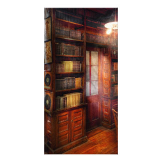 Steampunk - The semi-private study Photo Card Template