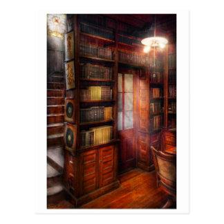Steampunk - The semi-private study Postcards