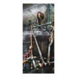 Steampunk - The Steam Engine Customized Rack Card